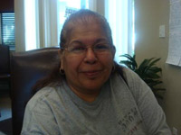 """I love my new floor.""<br /><br />Ramona Cadena<br />Ridgewood Apartments"